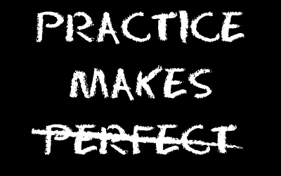 When Practice does NOT make Perfect