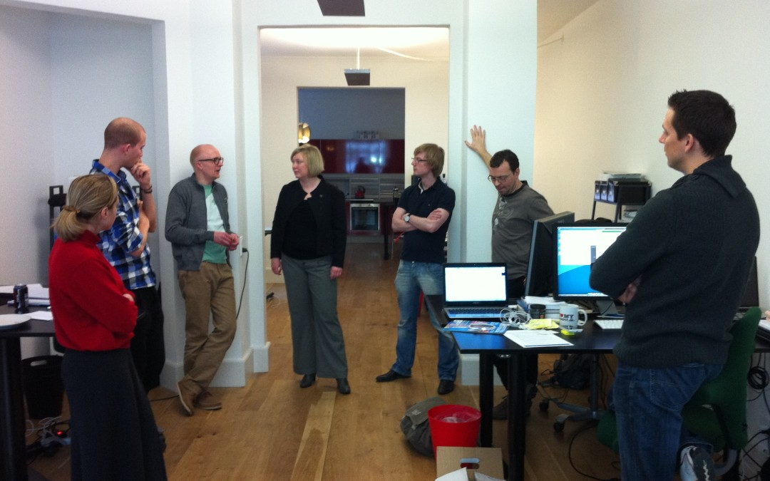 Using SCRUM stand-ups to make companies more personal